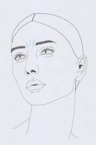 Stirnfalten 2